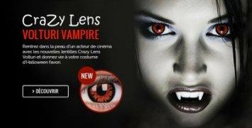 Lentilles Crazy Lens spécial Halloween